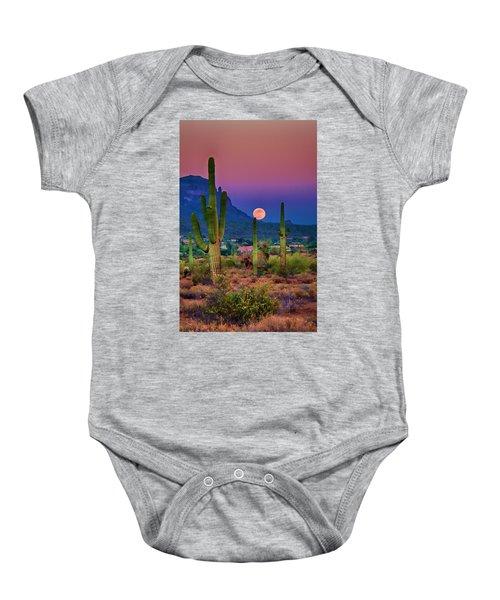 Postcard Perfect Arizona Baby Onesie