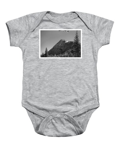 Pothole Dome In Yosemite Baby Onesie