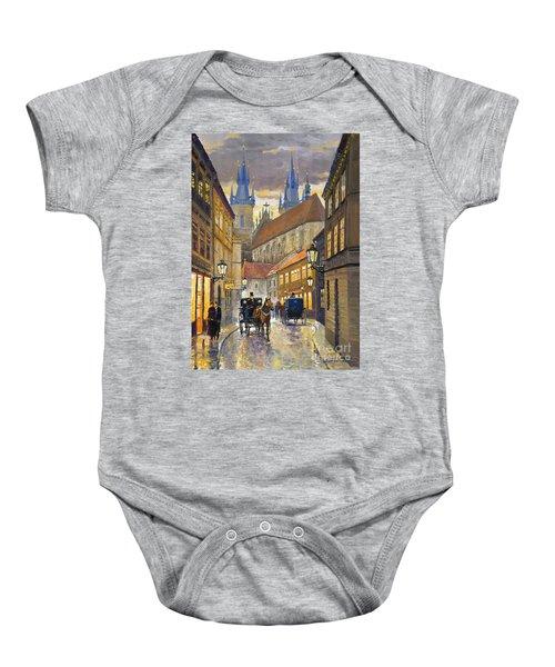 Prague Old Street Stupartska Baby Onesie