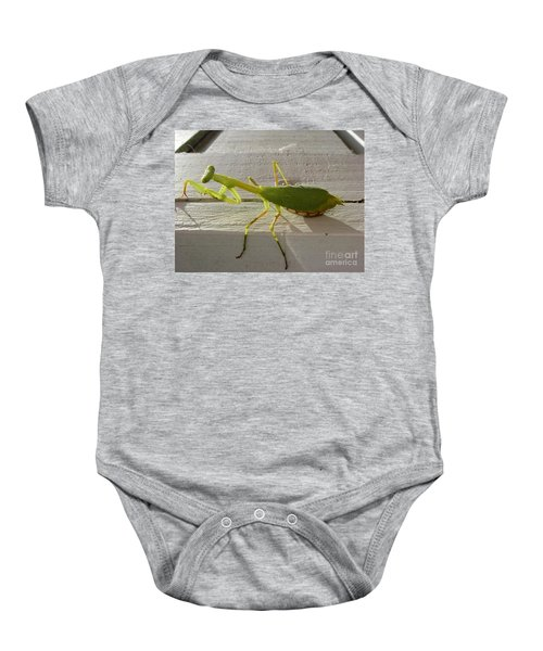 Praying Mantis Baby Onesie