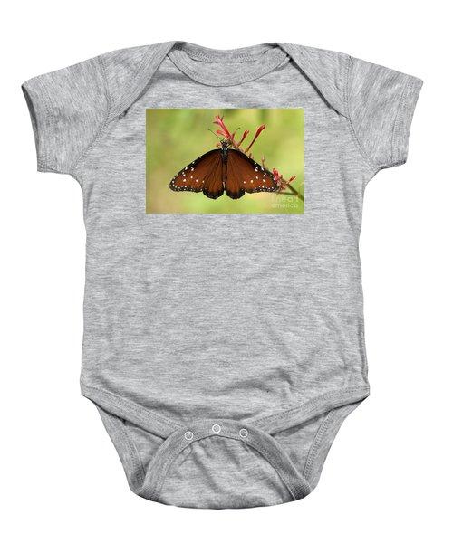 Queen Butterfly Baby Onesie