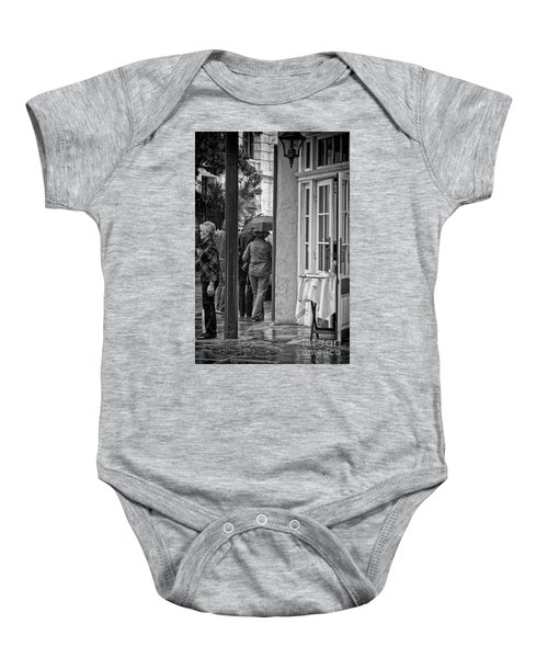 Rainy Day Lunch New Orleans Baby Onesie by Kathleen K Parker