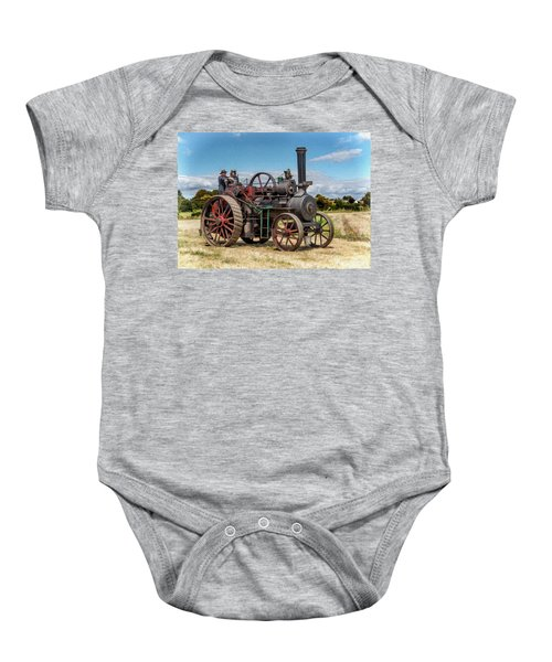 Ransomes Steam Engine Baby Onesie