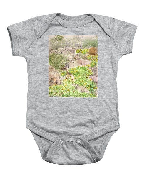 Red Butte Gardens Baby Onesie