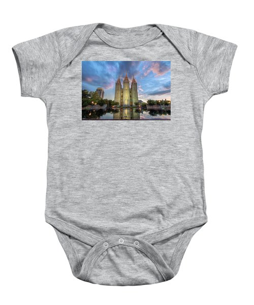 Reflecting On Faith Baby Onesie