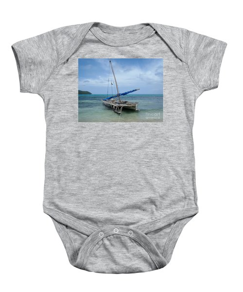 Relaxing After Sail Trip Baby Onesie