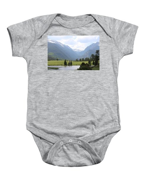 Rocky Mountain National Park  Baby Onesie