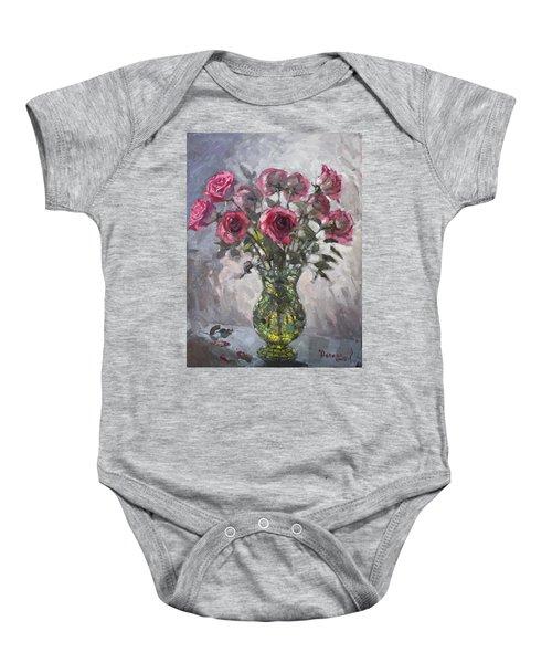 Roses For Viola 2 Baby Onesie