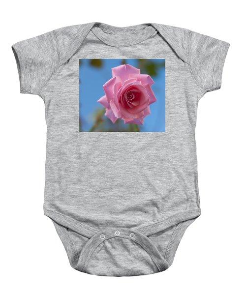 Roses In The Sky Baby Onesie