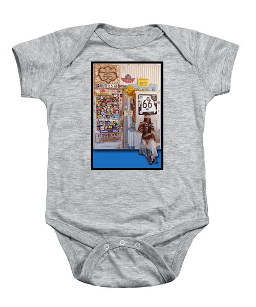 Route 66 Signs Baby Onesie