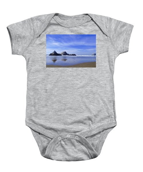 Rugged Reflections Baby Onesie
