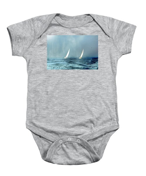 Sailing Into The Unknown Baby Onesie
