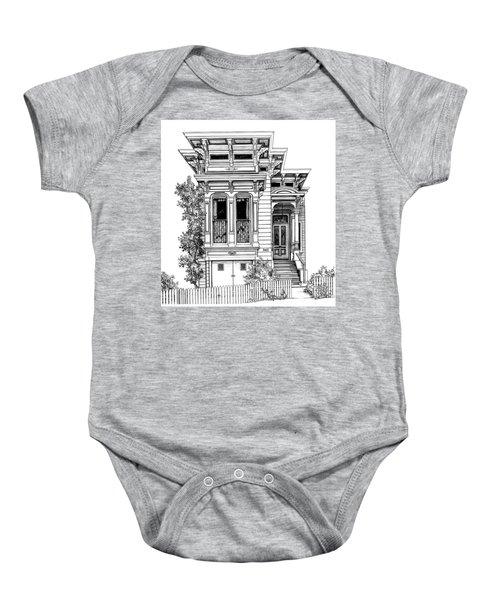 San Fracisco Victorian2 Baby Onesie
