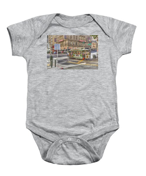 San Francisco Cable Car Baby Onesie