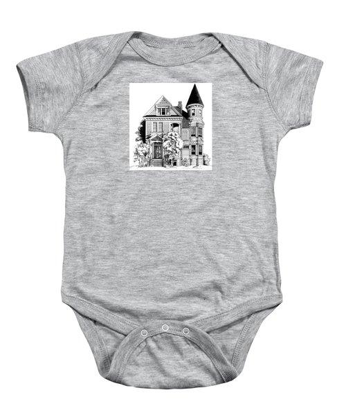 San Francisco Victorian Baby Onesie