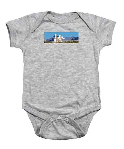 San Xavier Del Bac Mission Baby Onesie
