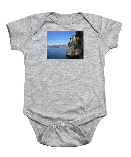 Baby Onesie featuring the photograph Santa Caterina - Lago Maggiore by Travel Pics