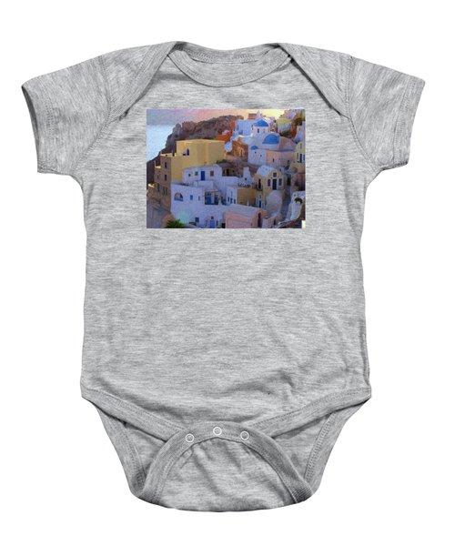 Santorini Grk6424 Baby Onesie