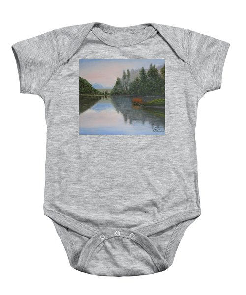 Sarita Lake On Vancouver Island Baby Onesie
