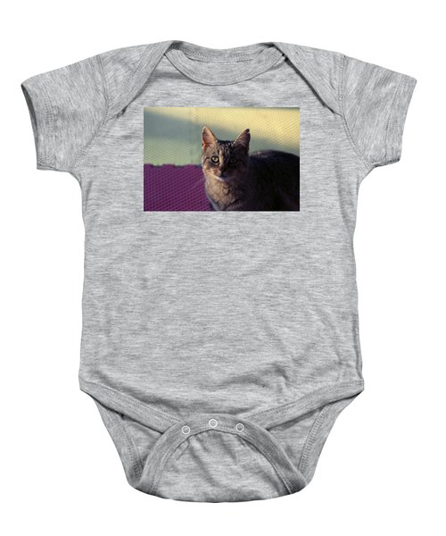 Saw Tooth Baby Onesie