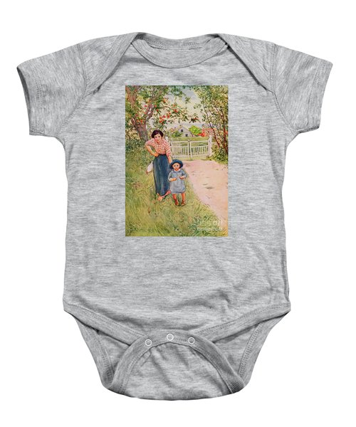 Say A Nice How Do You Do To Your Uncle Baby Onesie