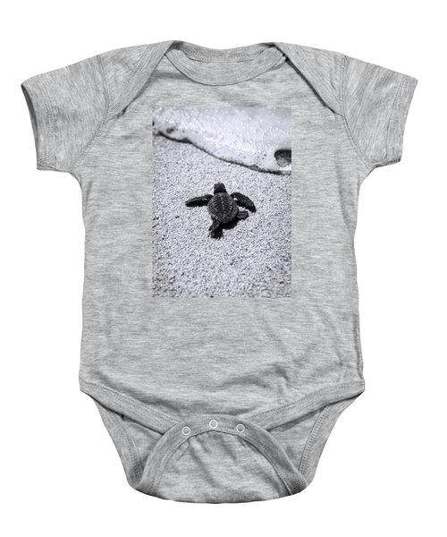 Sea Turtle Baby Onesie by Sebastian Musial