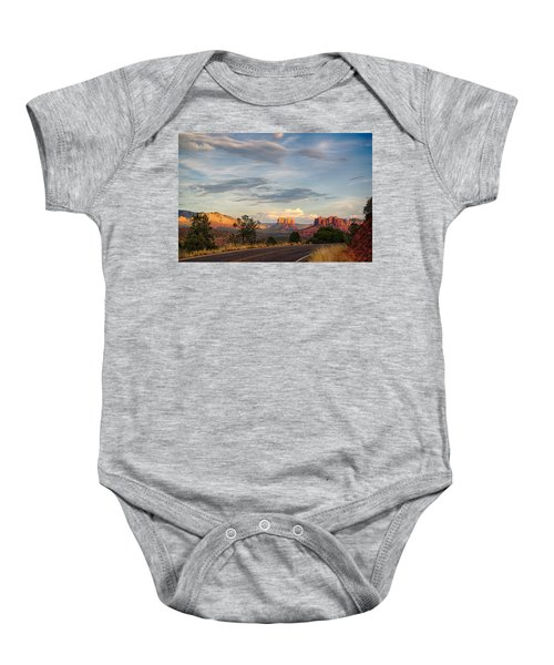 Sedona Arizona Allure Of The Red Rocks - American Desert Southwest Baby Onesie