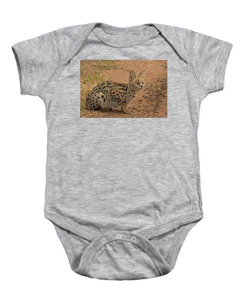 Serval Wild Cat Baby Onesie