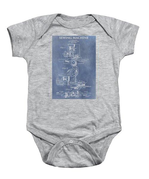 Sewing Machine Patent Baby Onesie