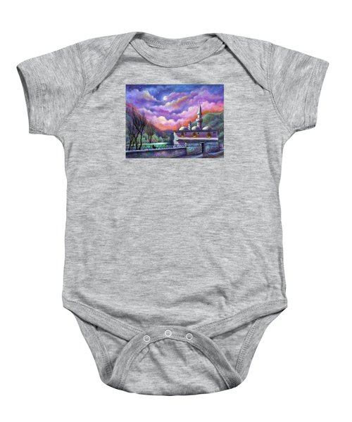 Shoot For The Moon Baby Onesie