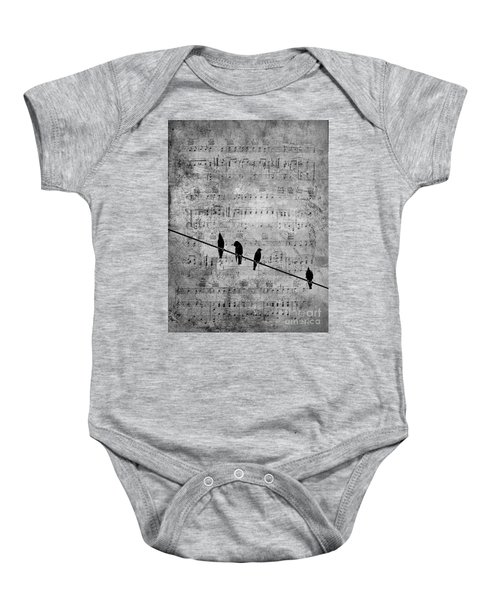 Sing A Song Of Sixpence Baby Onesie
