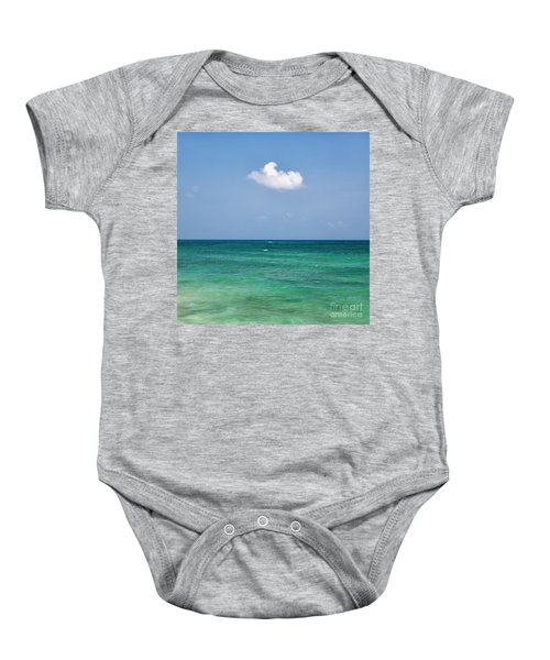 Single Cloud Over The Caribbean Baby Onesie