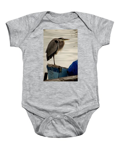 Sittin' On The Dock Of The Bay Baby Onesie