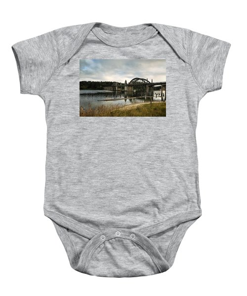 Siuslaw River Bridge Baby Onesie