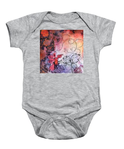 Sketchflowers - Calendula Baby Onesie