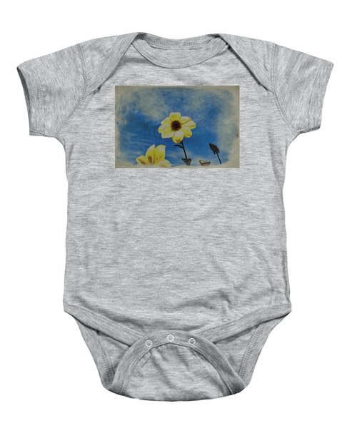 Sky Full Of Sunshine Baby Onesie