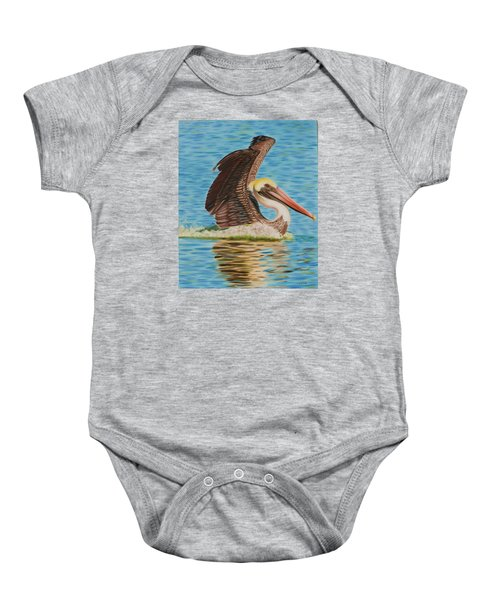 Smooth Landing  Baby Onesie