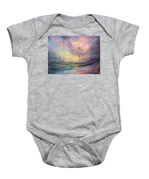 Smooth Sailing Baby Onesie
