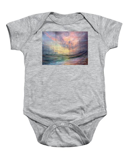 Smooth Sailing Baby Onesie