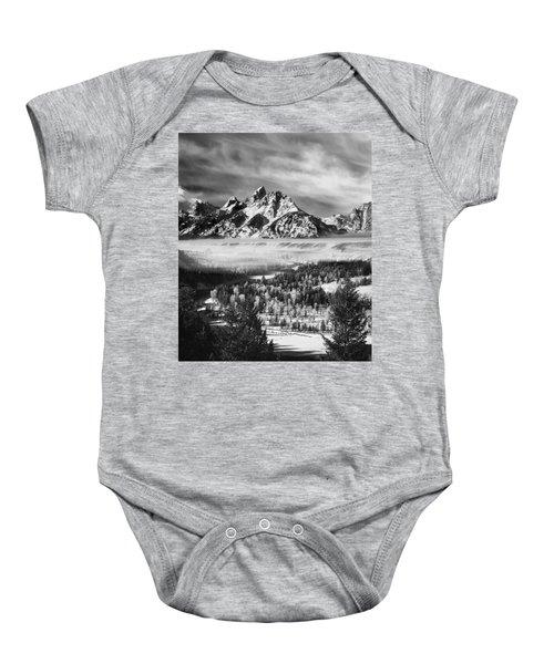 Snake River Overlook Baby Onesie
