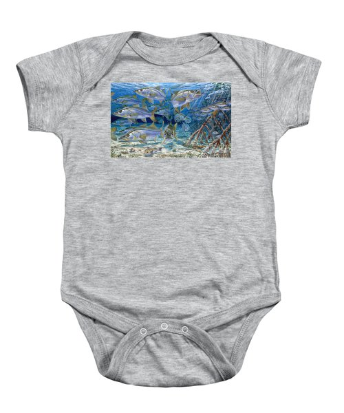 Snook Cruise In006 Baby Onesie by Carey Chen