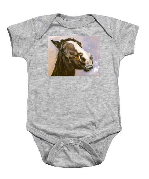 Hot To Trot Baby Onesie