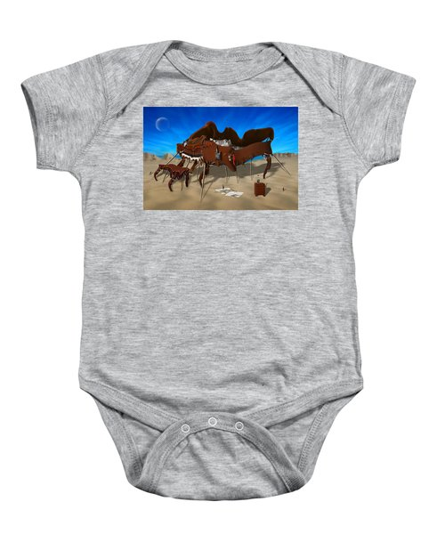 Softe Grand Piano Se Baby Onesie by Mike McGlothlen