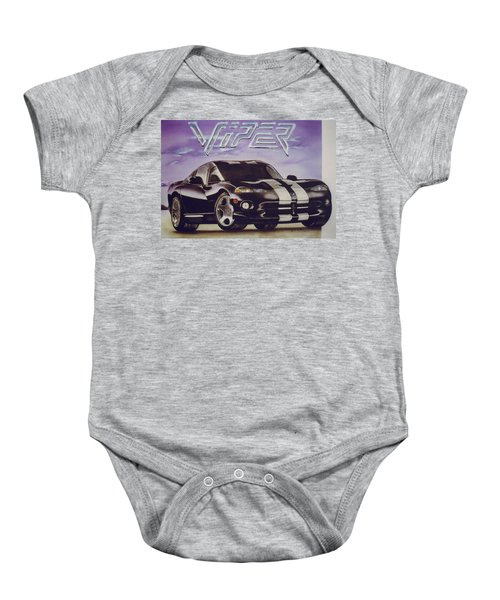 Speed At A Standstill Baby Onesie