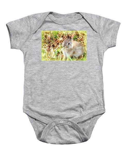 Spring Bunny Baby Onesie
