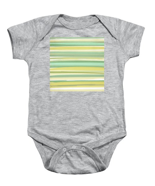 Spring Green Baby Onesie by Lourry Legarde