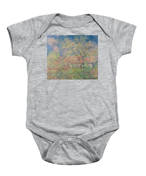 Springtime At Giverny Baby Onesie