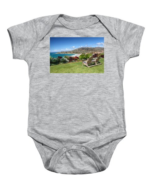 Springtime At Salt Creek Beach Baby Onesie