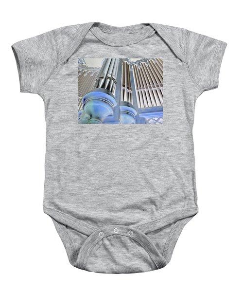 St Augustine Fantasy Organ Baby Onesie