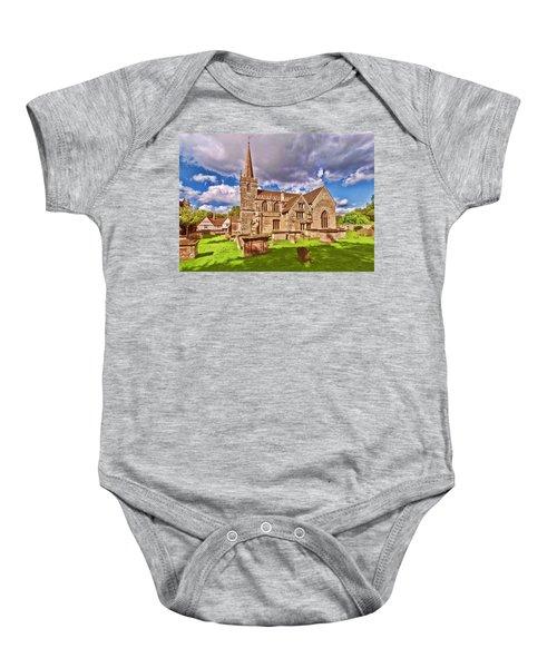 St Cyriac Church Lacock Baby Onesie